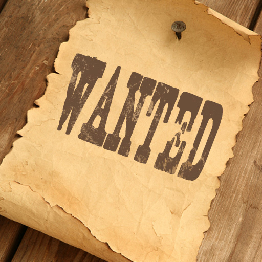 Wanted app icon